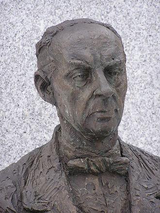 Sándor Márai - Sándor Márai (detail of his statue in Košice, Slovakia)