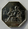 Médaille ARGENT Commissaires experts du gouvernement 1822 (Recto).jpg