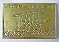 Médaille Cercle des nageurs de Marseille (CNM). Piscine mer 1932, piscine olympique 1968. Revers.JPG
