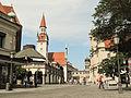 München, Viktualienmarkt met das Alte Rathaus D-1-62-000-4289 positie2 2012-08-05 15.29.jpg