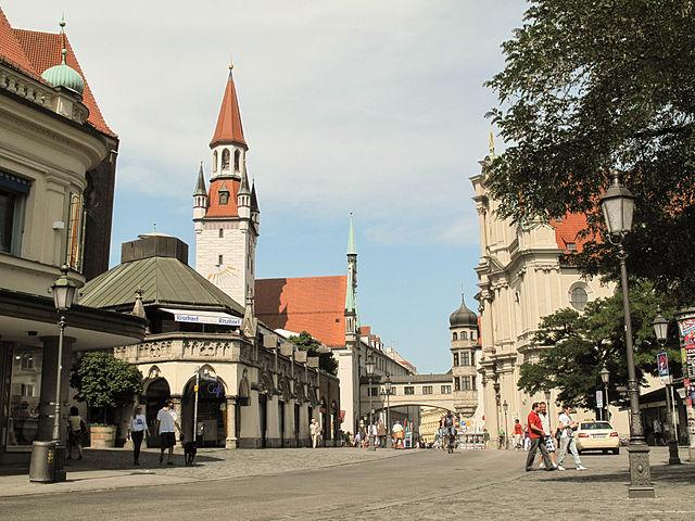 Город Мюнхен в Германии