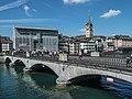 Münsterbrücke über die Limmat, Limmatquai - Stadthausquai, Stadt Zürich-Altstadt ZH 20180908-jag9889.jpg