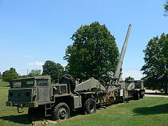 M65 Atomic Annie (eksponat Aberdeen Proving Ground)