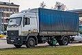 MAZ truck in Minsk (29 03 2020).jpg