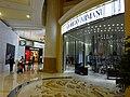 MC 澳門 Macau 路氹城 Cotai 四季名店 Shoppes at Four Seasons mall interior shop GIORGIO AMANI Nov 2016 DSC.jpg