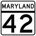 MD Route 42.svg