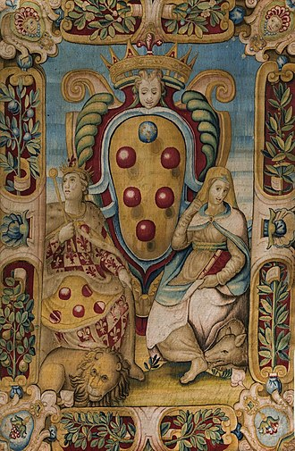 House of Medici - The Medici Wedding Tapestry of 1589