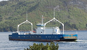 Valestrandfossen - MF Ole Bull