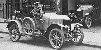 """1913 in the United Kingdom - 1913 """"Bullnose"""" Morris Oxford."""