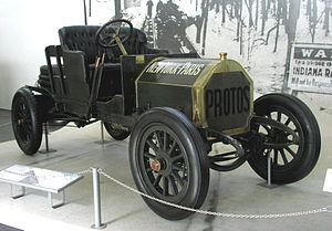 Hans Koeppen - Image: MHV Protos Wettfahrtwagen 1907 01