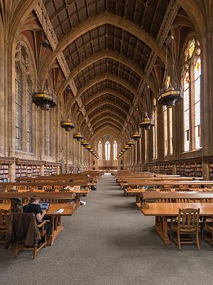 Suzzallo Library - Graduate Reading Room in the Suzzallo Library