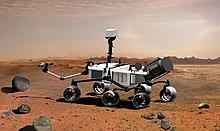 Rappresentazione del Mars Science Laboratory, 2007