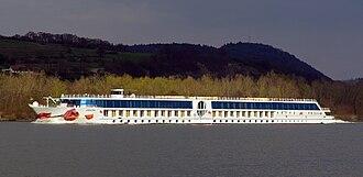 A'Rosa Cruises - Image: MS A Rosa Mia