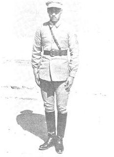 Ma Hushan Chinese warlord