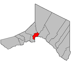 Location within Madawaska County.