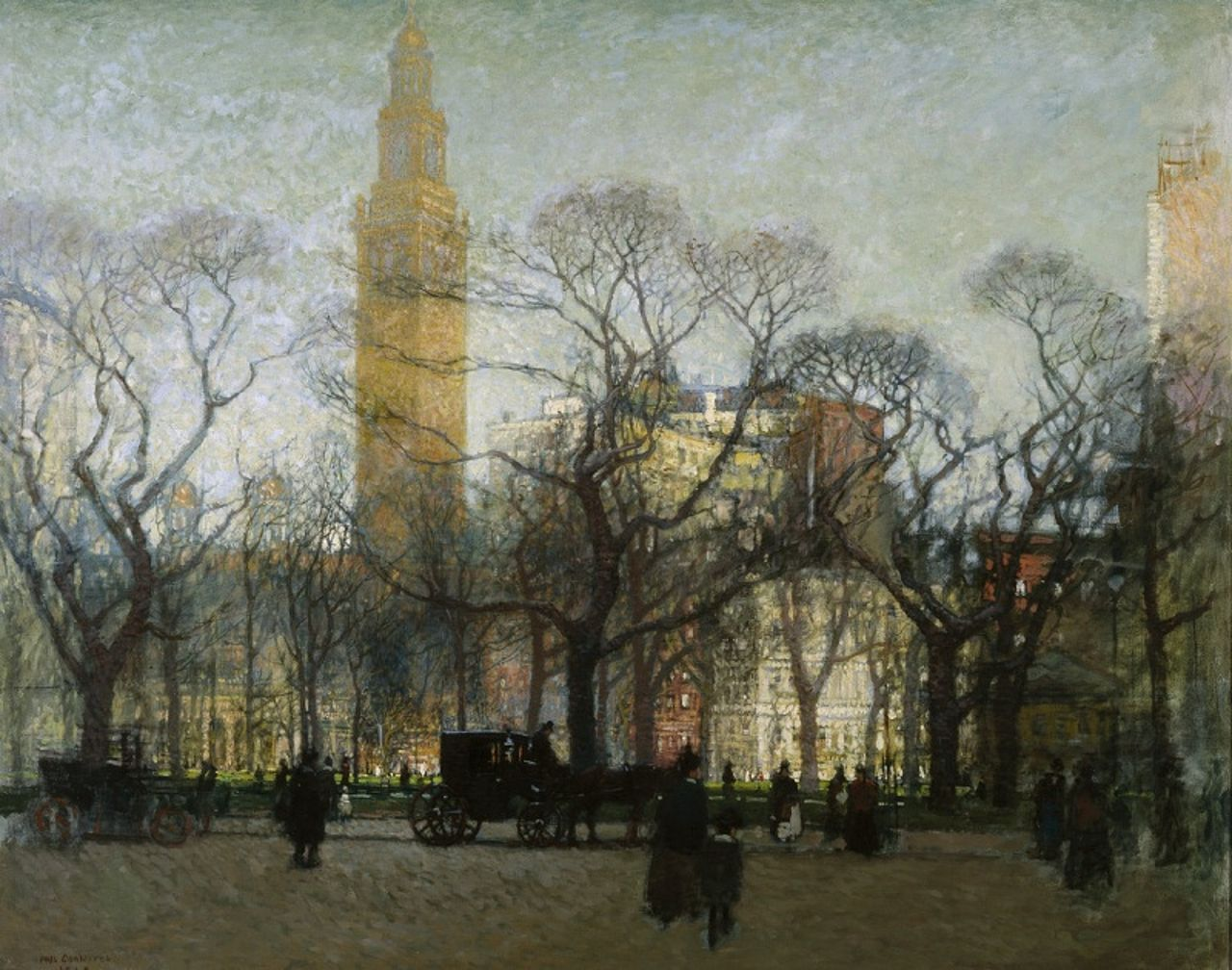 Madison Square in the Afternoon.  1910