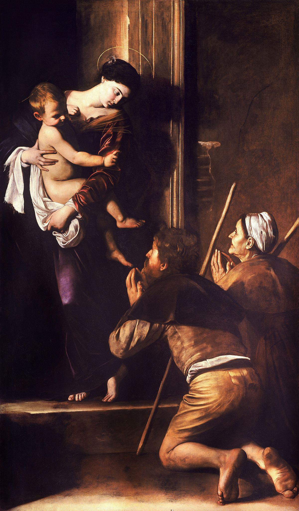 [Immagine: 1200px-Madonna_di_Loreto-Caravaggio_%28c.1604-6%29.jpg]