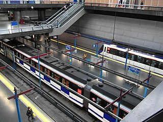 rapid transit system in Madrid, Spain