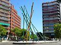 Madrid - Glorieta en la interseción de la Avenida de Filipinas y la Calle Cea Bermúdez.jpg
