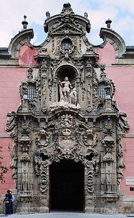 Pedro de Ribera Spanish architect