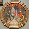 Maestro del 1416 (firenze), gara tra i pastori alcesto e acate (stemma parra di pisa), 1410 ca..JPG