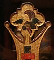 Maestro espressionista di santa chiara, croce processionale, umbria 1320 ca. 02.jpg