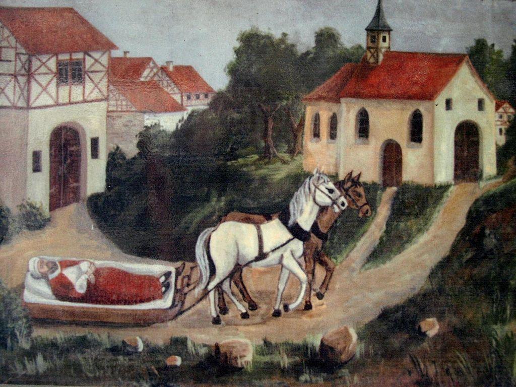 Magdalenenkapelle Baunach Legendenbild