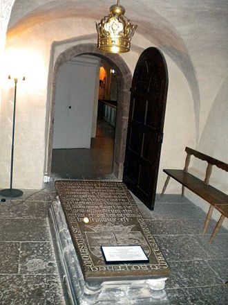 Magnus I of Sweden - The grave monument of King Magnus was placed at Vreta in the 16th century but is a cenotaph – the location of his actual burial is not known.
