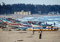 Strand von Mamallapuram