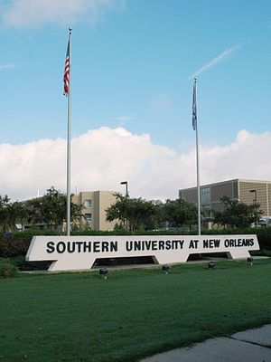 Southern University at New Orleans - Image: Main SUNO Marquee