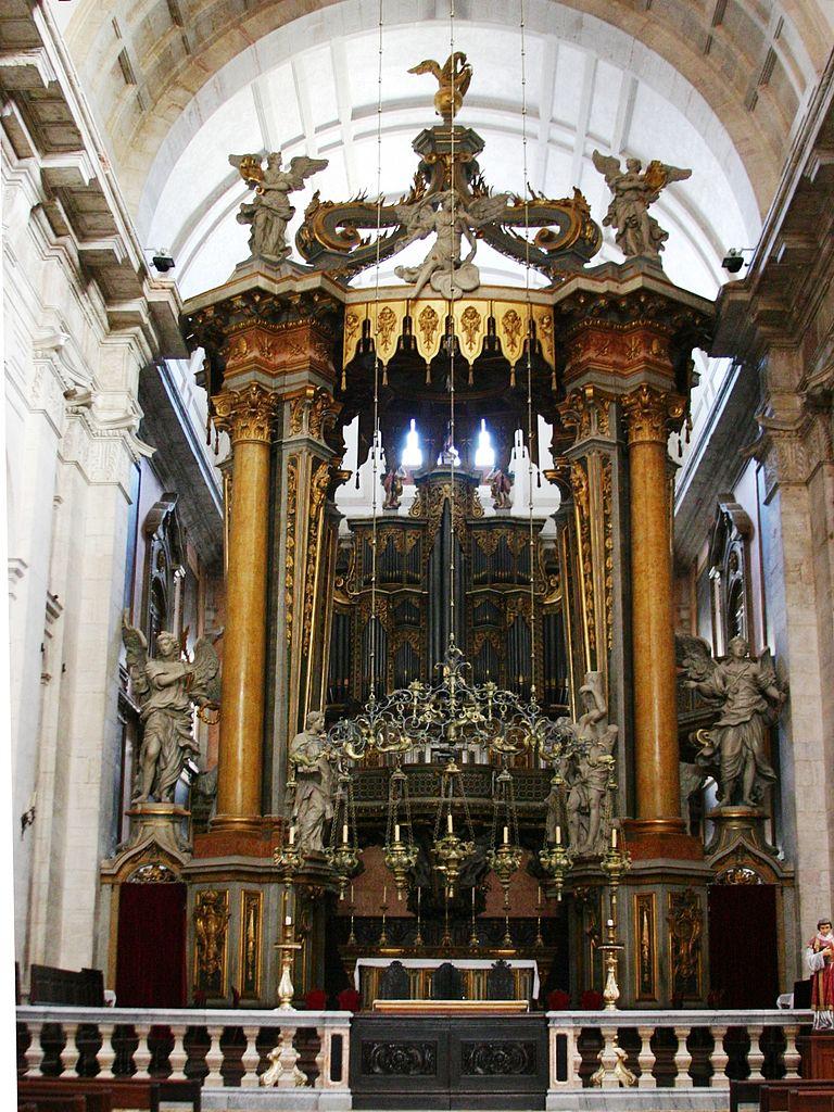 Choeur de l'église São Vicente de Fora de Lisbonne - Photo de © José Luiz Bernardes Ribeiro / CC BY-SA 3.0