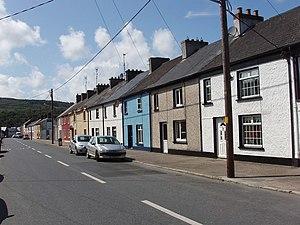 Portlaw - Main street of Portlaw