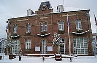 Mairie Offranville sous neige.JPG