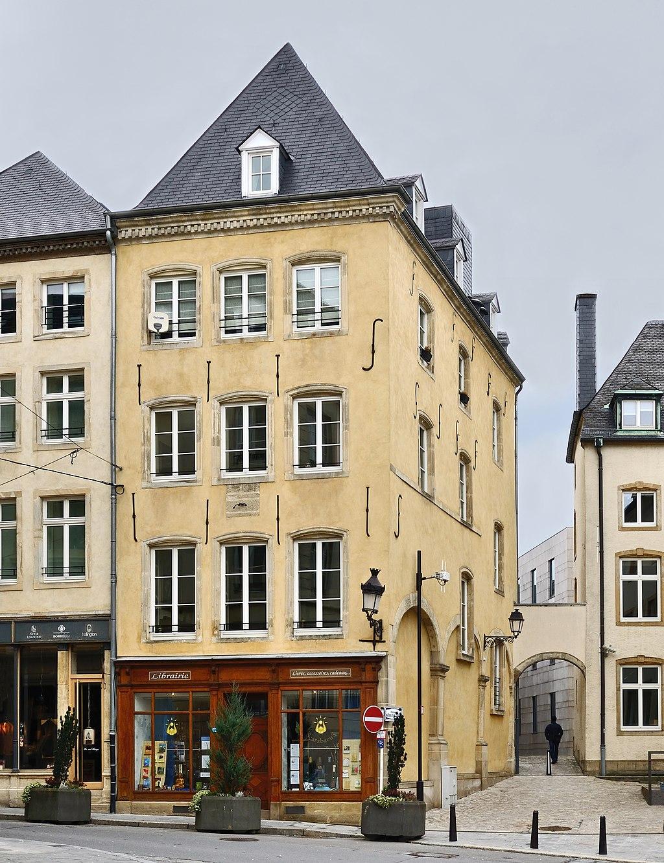 Maison croeff 11 rue de la boucherie in luxembourg city for Maison moderne luxembourg wikipedia
