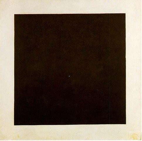 Kazimir Malevits - Musta nelio, 1915. - Wikipedia