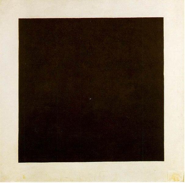 Kazimir Malevich, Black Square, 1915