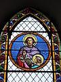 Mametz (Pas-de-Calais, Fr), église de Crecques, vitrail 04.JPG