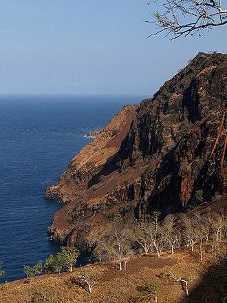 Manatuto Municipality - Cliffs at Manatuto