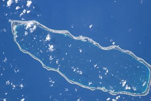 Manihi - NASA picture of Manihi Atoll