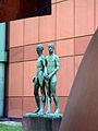 Mannheim Kunsthalle Skulpturengarten Gerhard Marcks Zwei Freunde 2.jpg