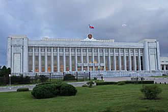 Pyongyang - Mansudae Assembly Hall, seat of the Supreme People's Assembly, the North Korean parliament