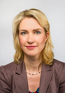 Manuela Schwesig German politician (SPD), Minister President of Mecklenburg-Vorpommern