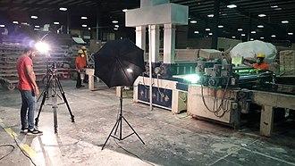 Industrial video - Behind the scene of industrial video