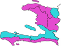Map Haïti Election presidential 2016.png