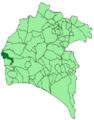 Map of El Granado (Huelva).png