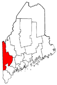 Map of Maine highlighting Oxford County.png