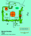 Mapa del Mundo Perdido, Tikal, Guatemala.png