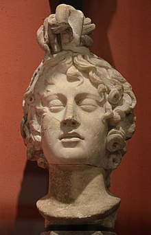 Statue of Medusa's head