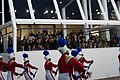 Marching band performs at 57th Presidential Inauguration Review Stand 130121-Z-QU230-260.jpg
