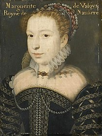 Portrait of Marguerite de Valois, ca. 1572